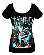 Short Sleeve Machine Washable Regular Gothic T-Shirts for Women