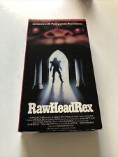 RARE Original Raw Head Rex Beta Tape Not VHS- Horror Film