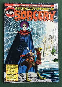 Chilling Adventures in Sorcery #5 Red Circle Comics Bronze Age Gray Morrow vg