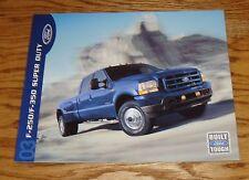 Original 2003 Ford Truck F-250 F-350 Super Duty Sales Brochure 03 2nd