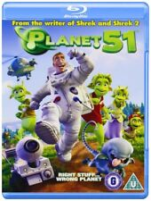 PLANET 51 - BLU RAY - NEW / SEALED - UK STOCK - from the writer of Shrek