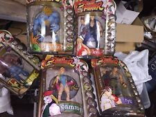 Street Fighter Cammy, Vega, Run, Ken, Blanka, & Alex 1999 Never Opened