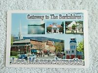 "LEE, MASSACHUSETTS Refrigerator Magnet 3"" x 4"" Gateway to the Berkshires"