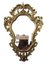 Specchiera barocca legno intagliato dorato - rococò barocchetto - Luigi XV '700