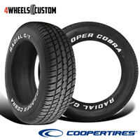 2 X New Cooper Radial G/T P235/60R15 98T Tires