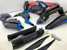 Black Factory Graphics Kit  Fits: KTM EXC EXCF 250 350 450 2018 2019 2020