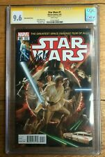 Star Wars #1 Alex Ross Variant Signed by Stan Lee CGC SS 9.6 1316128005