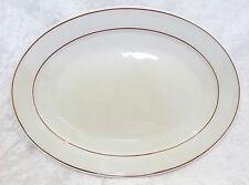 "Bristile / Wembley ware - Platter vgc (11 1/2"") two brown lines pattern"