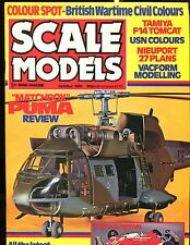 Scale Models Magazine October 1981 Matchbox Puma EX No ML 122916jhe