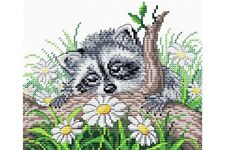Cross Stitch Kit Little Racoon M-058