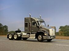 1/64 DCP GRAY/BLACK KENWORTH T680 W/ MID-ROOF SLEEPER