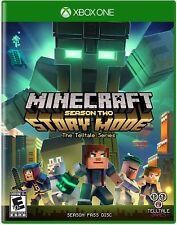 Minecraft : STORY MODE SAISON Two 2 Pass CD-ROM (Microsoft Xbox One, 2017)