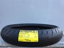120/70ZR17 MICHELIN POWER PURE 2CT 58W Partworn Motorcycle Front tyre (MB764)
