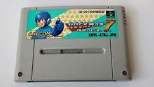 ROCKMAN 7 MEGAMAN Super Famicom(SNES/SFC) JP GAME Cartridge only/tested-a48-