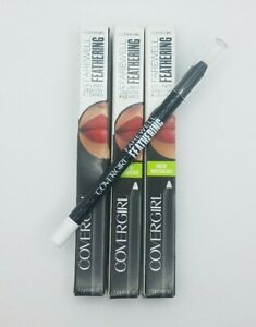 3 Covergirl Farewell Feathering Lip Liners - Clear 100