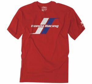 Factory Effex Men's Honda Stripes Tee Shirt T-Shirt Red XL