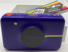 Polaroid Snap Instant Digital Camera (Purple) with Zink Ink Printing Used