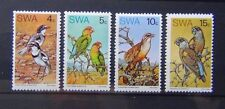 South West Africa 1974 Rare Birds set MNH