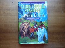 Christopher Stasheff the Witch Doctor Hc/ Dj 1st edition wizard in rhyme book 3