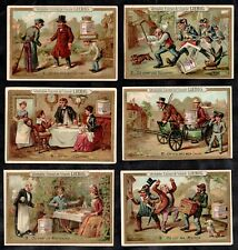Puzzles & Hidden Objects III Victorian Card Set Liebig 1887 S200 Pots Police