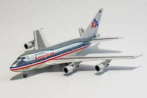 """1:400 NG 07007 American Airlines 747SP N601AA <with """"747 LuxuryLiner"""" titles>"""