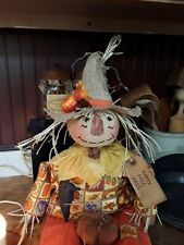 Primitive fall country Farmhouse scarecrow doll