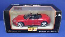 Maisto 31933 1:24 1996 Porsche Boxster  MIB Diecast Red 90s