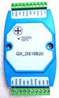 8 channel input temperature sensor DS18B20 module RS485 RTU MODBUS DC9V?30V