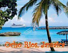 JAMAICA - OCHO RIOS - Travel Souvenir Flexible Fridge Magnet