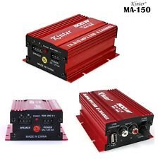 Mini Amplificatore Stereo a 2 Canali Auto 500 W USB SD Mp3 FM Kinter Ma-150