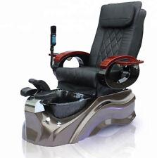 New Salon Shiatsu Massage Pedicure Foot Spa Chair w/ Pipeless Tub Basin Tub