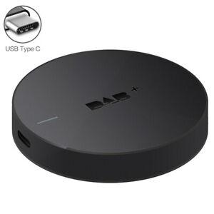 Car Radio DAB+ Digital Audio Broadcasting Receiver Tuner Box W/Amplified Antenna