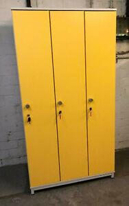 Spind Kleiderspind Garderobenschrank Personalschrank Umkleide Schrank Holz