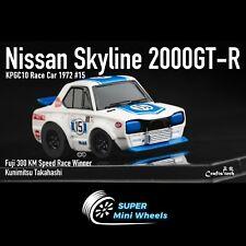 FuelMe 1/64 Q Scale Nissan 2000 GT-R Winner #15 Kunimitsu Takahashi [In Stock]