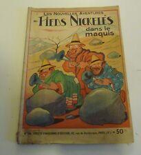 NOV9 --  LES  PIEDS NICKELÉS   N° 14   édition originale 1949