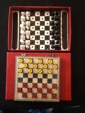 vintage chess / draughts, Travel  Vintage Games