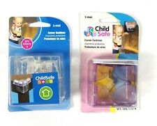 Lot of 2 Child Safe Plastic Corner Cushions S4445 Pack of 4  Total Count 8