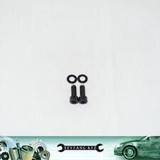 Edelstahl Schrauben schwarz Anlasser Opel Kadett Astra Calibra C20XE C20LET