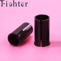 Bicycle Seatpost Sleeve Shim Bike Seat Post Tube Adapter 60mm Black for MTB