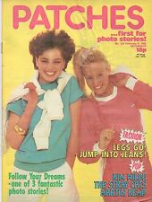 Patches Magazine 6 February 1982 No. 153  Kim Wilde  The Stray Cats  Martin Kemp
