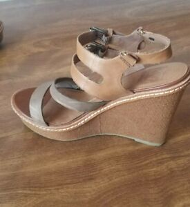 DOLCE VITA LEATHER SANDALS SIZE 37 1/2