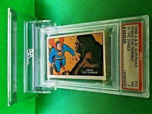 1968 A&BC SUPERMAN ZORUK THE TERRIBLE #34 PSA 7 NEAR MINT - Vintage garno PSA