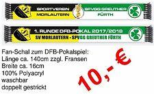 Fanschal DFB-Pokalspiel SV Morlautern - Greuther Fürth SVM