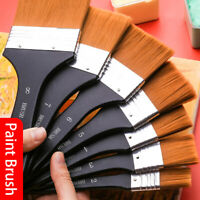 Nylon Artist Paint Brushes Set Acrylic Oil Watercolor Painting Craft Art Kit 37