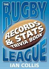 NEW: The Rugby League Records & Stats Trivia Book By Ian Collins (Paperback book