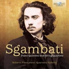 Sgambati / Plano / Q - Piano Quintets & String Quartets [New CD]