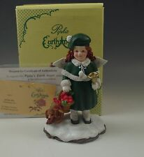 Pipka Earth Angels Samantha, Playful Angel, Ltd.Ed Figurine, #736, Nib, Retired