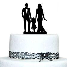 Monogram Unique Bridal Shower with Girl Wedding Cake Topper Party Cake Decor