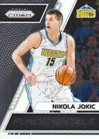 2017-18 Panini Prizm Fundamentals #50 Nikola Jokic Denver Nuggets