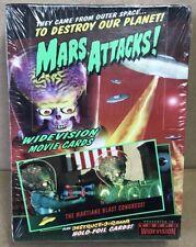 1996 MARS ATTACKS TOPPS WIDE VISION UNOPENED BOX OF 36 PACKS BEAUTIFUL!! RARE!!